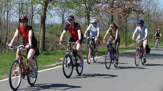 Zahájení sezony na cyklostezce Bečva