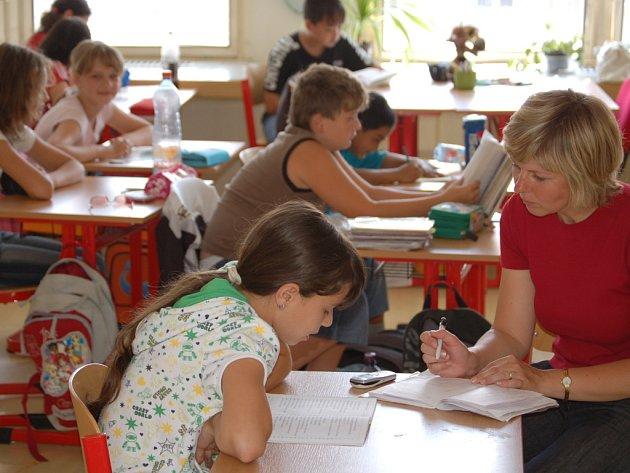 NĚkteré školy se ke stávce připojily jen formálně, jako například přerovská Základní škola B. Němcové, kde probíhala běžná výuka.