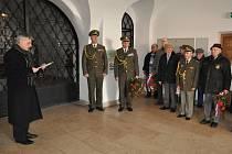 Lidé v Hranicích uctili památku prvního československého prezidenta Tomáše Garrigua Masaryka.