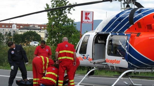 Poslední tragická nehoda se stala na tomto úseku na začátku července, 84letý muž se snažil přejít přes silnici mezi sídlištěm Hromůvka a Kauflandem a srazilo jej přitom auto.