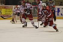 Veledůležité střetnutí s Berounem hokejisté Prostějova vyhráli těsně, leč zaslouženě  2:1.