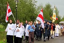 Mše a svěcení německého památníku na hřbitově v Polomi se konaly 15. srpna