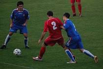Muži 1. FC Přerov na domácím hřišti podlehli soupeři z Dolan 0:3.