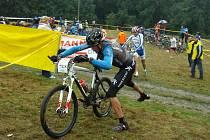 Závodníkům Helf Double Crossu nepřálo počasí.
