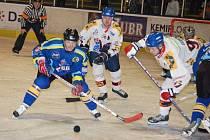 Přerovští hokejisté úspěšně vstoupili do play-off, když na vlastním ledě rozstříleli celek Valašského Meziříčí.
