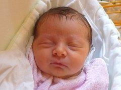 Karla Knichalová, Bělotín, narozena dne 8. října 2012 v Novém Jičíně, míra: 49 cm, váha: 3160 g