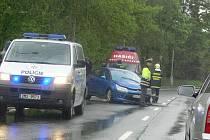 Dopravní nehoda na Smetanově nábřeží