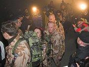 První tým vojáků odletěl do Afgánistánu z bochořského letiště již 11. února.