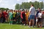 Na fotbalový turnaj se sjely mladší a starší přípravky z Moravy, Polska a Slovenska.