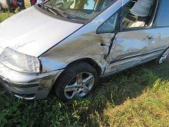 Řidič od nehody ujel, nechtěl být natočen na video.