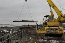 Hranické viadukty se v těchto dnech začaly opravovat.