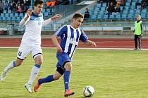 Fotbalisté SK Hranice proti MFK Havířov