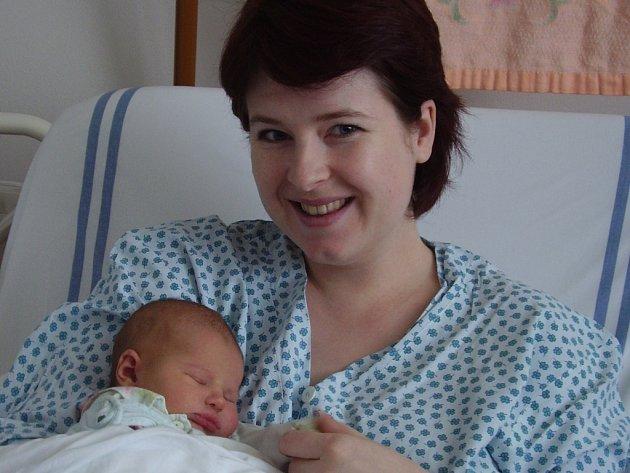 Milena Bělková, Kojetín, dcera Eliška Bělková, narozena 19. 3. 2008 v Přerově, váha: 3,79 kg