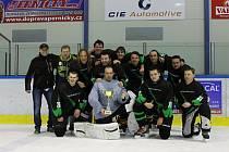 Hokejisté Hranic vyhráli amatérskou ligu.