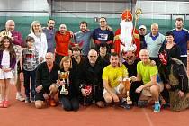 Club Tennis Hranice uspořádal Mikulášský turnaj v Suchdole nad Odrou.