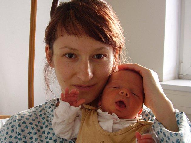 Leona Pešlová, Milenov, syn Ondřej Líva, narozen 14. 3. 2008 v Přerově, váha: 3,38 kg