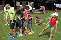 Hranický Domeček připravuje každoročně v době letních prázdnin pro děti  pestrý program.
