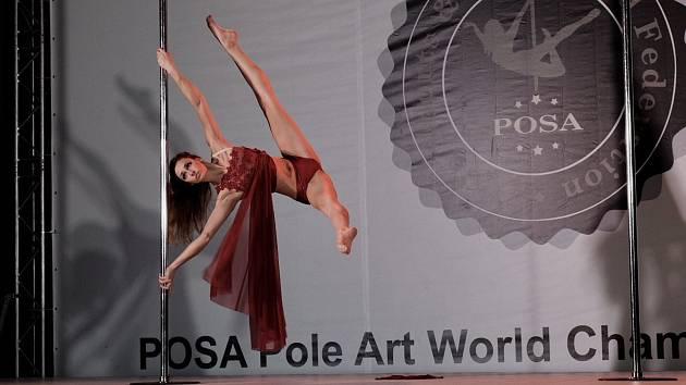 Barbora Orságová se na mistrovství světa vpole art umístila vprvní desítce
