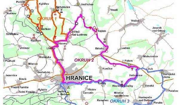 Aktuality a novinky týkající se cyklistických výletů a podzimního slavnostního vyhlášení jsou také na www.regionhranicko.cz/cyklotrasa.