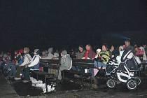 Silvestrovské promítání v hranickém letním kině. Ilustrační foto