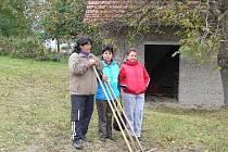 Nové zaměstnankyně obce Bělotín při pracovní činnosti