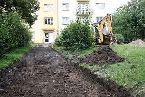 Revitalizace Struhlovska je v plném proudu.