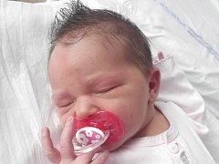 Magdalena Mlčáková, Hranice, narozena dne 28. ledna 2015 v Přerově, míra: 52 cm, váha: 4050 g