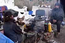 Hraničtí bezdomovci Rosťa s Martinem