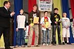 Nejlepším družstvem do patnácti let se stali starší žáci Judo clubu Femax Hranice před BMX AMK Kemp Hranice a staršími fotbalovými žáky Sportovního klubu Hranice.