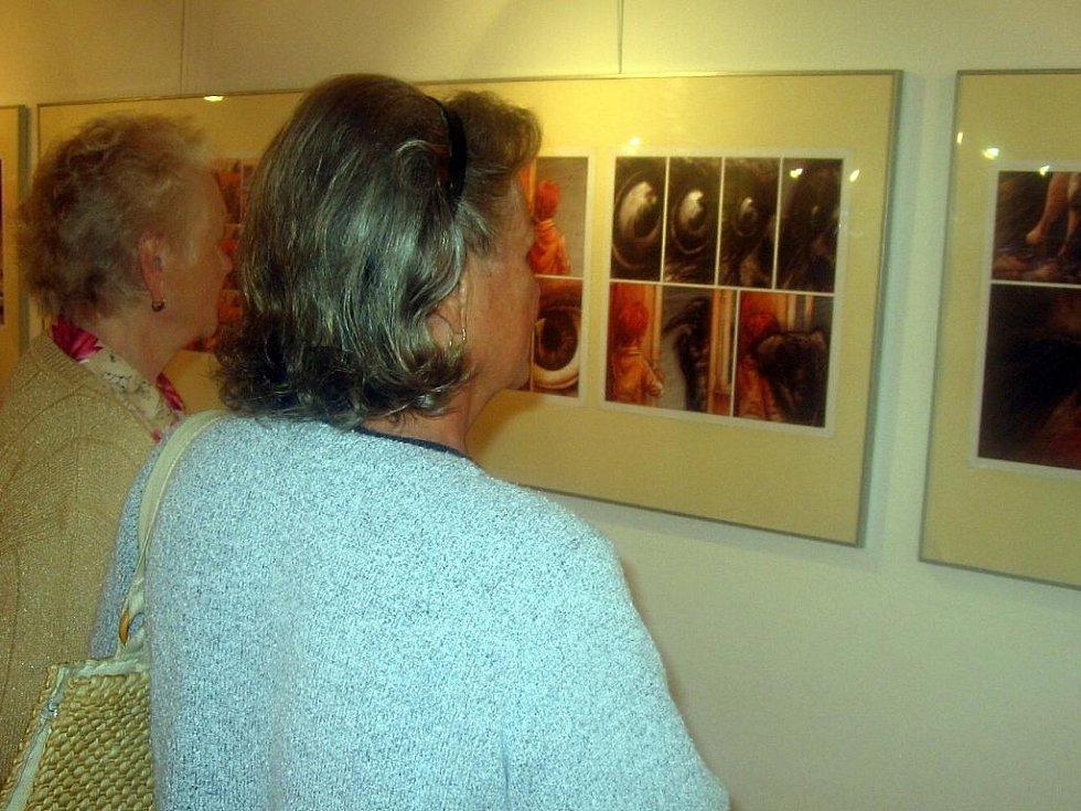Už na slavnostním zahájení si účastníci výstavy komiksů v sále hranické Staré radnice se zaujetím prohlíželi díla autorské dvojice Tomáše Prokůpka a Tomáše Kučerovského.