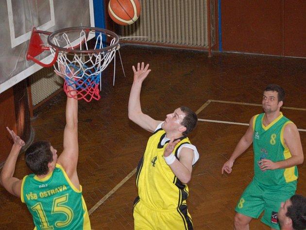 Tomáš Fridrišek byl v obou utkáních nejlepším střelcem a celkem zaznamenal 35 bodů.