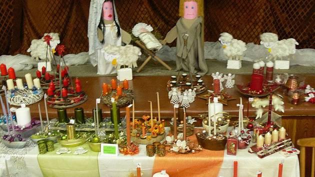Vánoční výstava v sokolovně ve Skaličce