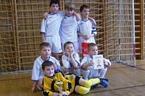 B–tým SK Hranice vyhrál halový turnaj ve Všechovicích.