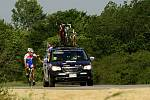 Nejtěžšího cyklistického závodu světa se zúčastnil i hranický fyzioterapeut Tomáš Gladiš.