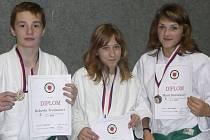Robert Trojnar, Barbora Bakovská a Marie Holčáková.