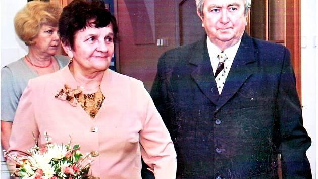 Padesát let společného života si manželé Oškrkaní připomněli letos v únoru.