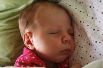 Alžbětka Němcová, Zábešní Lhota, narozena 8. února 2011 v Přerově, míra 53 cm, váha 4 120 g