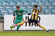 Opava - Zápas divize E mezi SFC Opava B a FK Hranice na Moravě 10. září 2017.