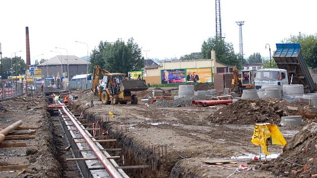 Rekonstrukce autobusového nádraží je jednou z největších investičních akcí v Přerově za poslední období.
