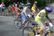 Více jak osm desítek závodníků se zúčastnilo již šestého ročníku cyklistické soutěže KV Top Cup.