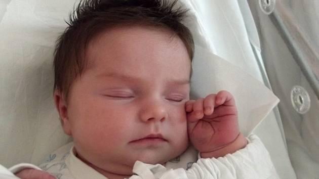 Barbora Slezáková. Přerov, narozena dne 28. června 2013 v Přerově, míra: 52 cm, váha: 4 110 g