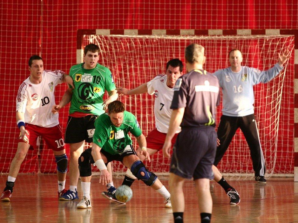 Hranice podlehly ve čtvrtfinále Zubří 1:3 na zápasy.