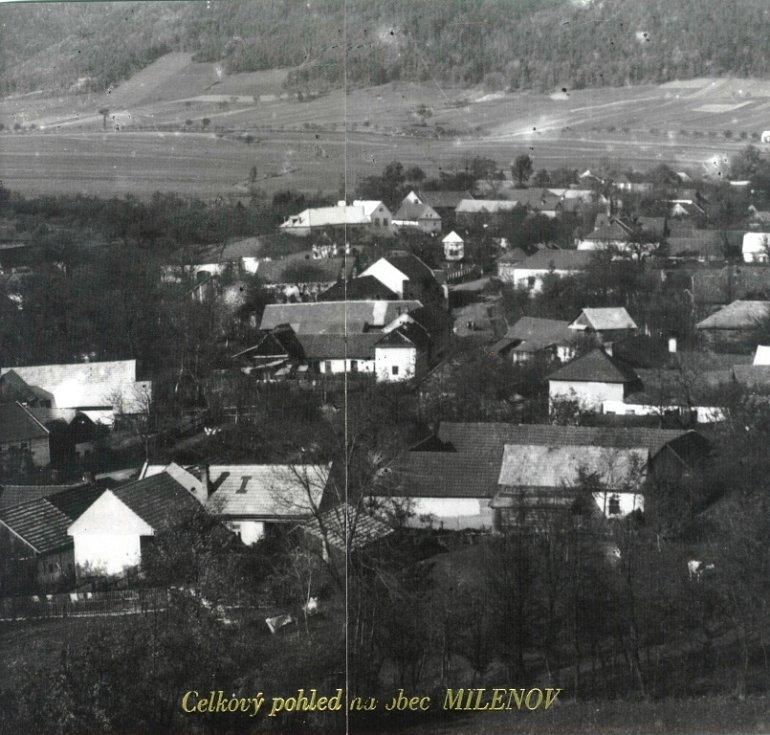 Ráz vesnice Milenov se v průběhu let viditelně změnil.