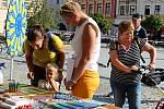Den bez aut a Barevný den na Masarykově náměstí v Hranicích 22. září 2020.