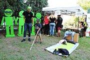 V areálu komunitního a kulturního prostoru Karnola se v sobotu konala akce Zažít Hranice jinak!