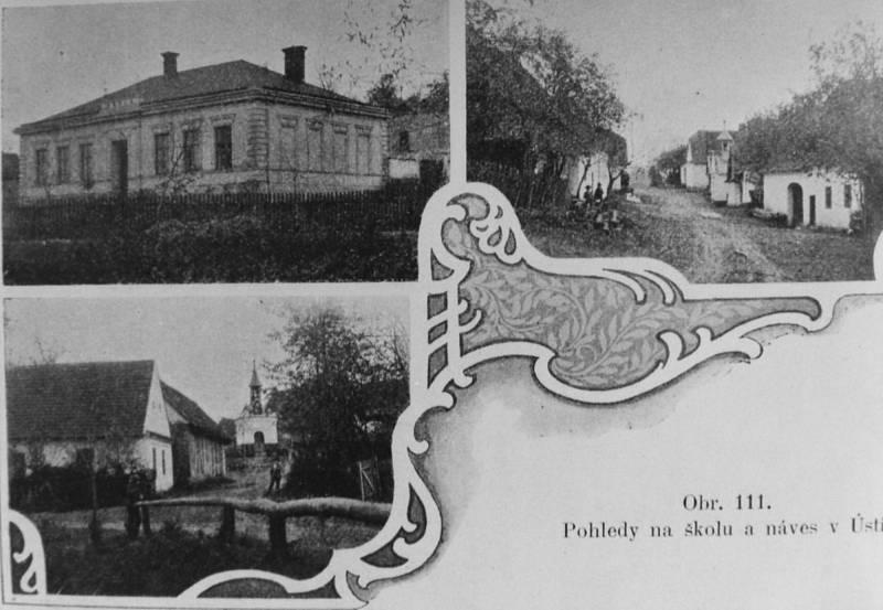 Stará pohlednice Ústí.