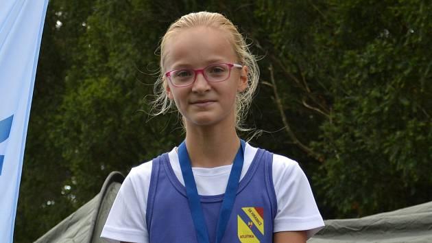 Hranická atletka Sabina Tvrdoňová.