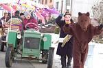 Vodění medvěda má dlouholetou tradici i v Újezdci.