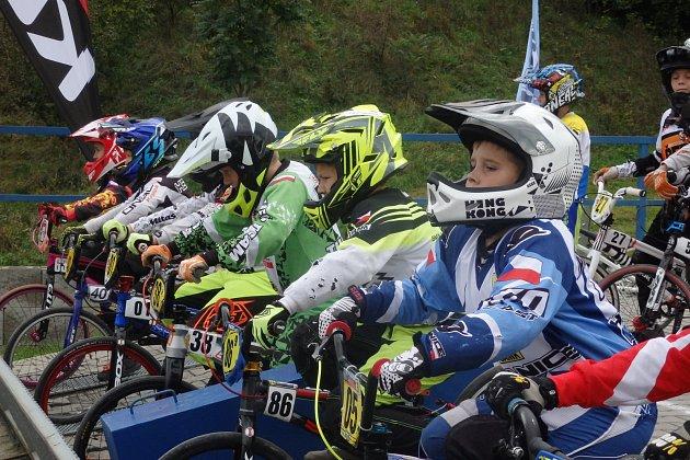 Českomoravský pohár BMX v Hranicích