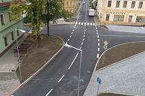 V Hustopečích nad Bečvou ve středu 16. září slavnostně otevřeli křižovatku ulic Nádražní, Rybníček a Školní, která procházela od června tohoto roku rekonstrukcí.